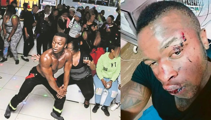 Video goes viral: 2 female str!ppers cause chaos at Cardbury's funeral – Watch