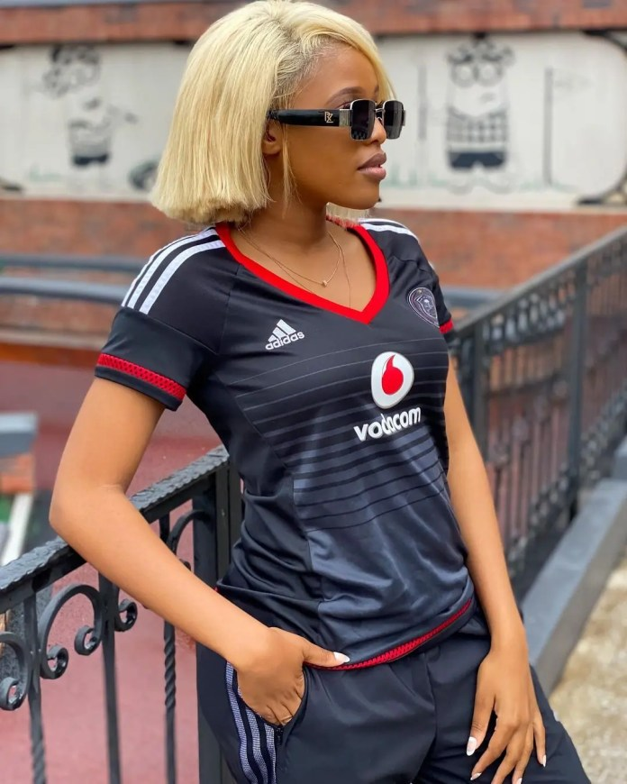 Video: Actress Natasha Thahane reacts to claims she's behind Lorch's poor performance