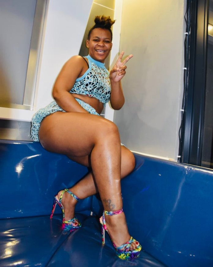 Video of Zodwa Wabantu getting fingered on stage goes viral