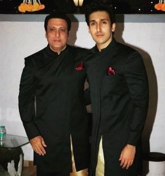 Yashvardhan with his father