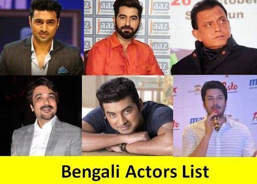 Bengali Actors List | Indian Bengali Heroes Names List, Photo, Image