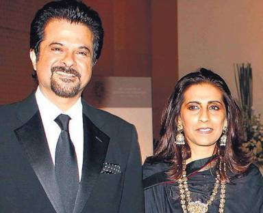 Anil Kapoor with his wife Sunita Kapoor