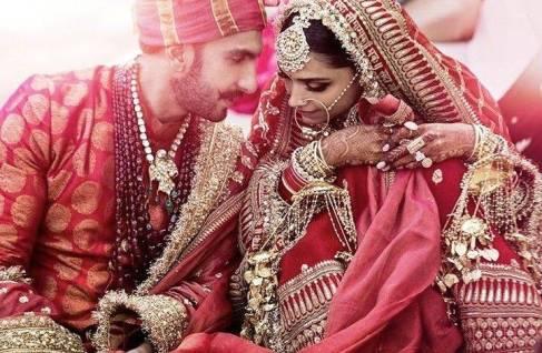 Marriage of Ranveer Singh and Deepika Padukone according to Sindhi tradition
