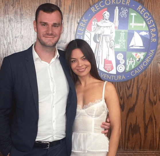 Scarlett Byrne and Cooper Married