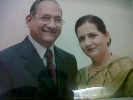 Deepti Talpade's parents
