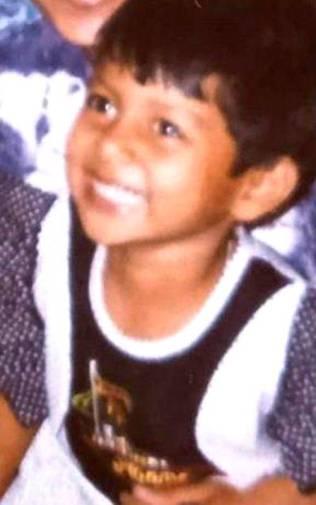 A childhood picture of Nidhi Kumari Prasad