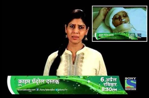 Sakshi Tanwar in Crime Petrol as a host