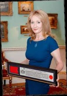A biography of joanne rowling an english author