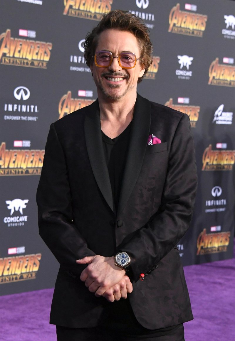 Robert Downey Jr. Favorite Brand Favorite Things Favorite Drink Food Movie Show Song Place and Animal