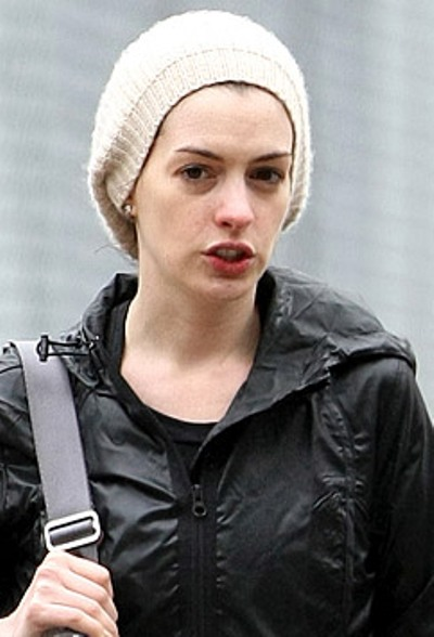Anne Hathaway No Makeup Pictures