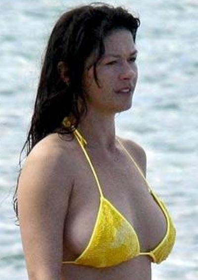 Catherine Zeta Jones Without Makeup
