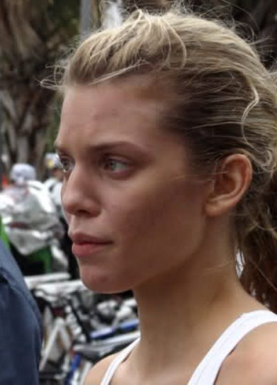 Annalynne McCord Without Makeup