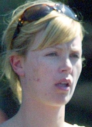 Charlize Theron Without Makeup