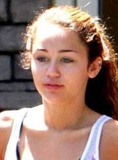 Miley Cyrus Without Makeup Pictures