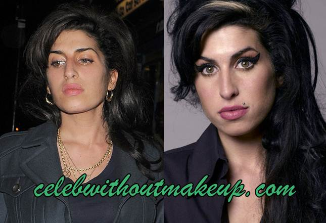 Amy Winehouse No Makeup