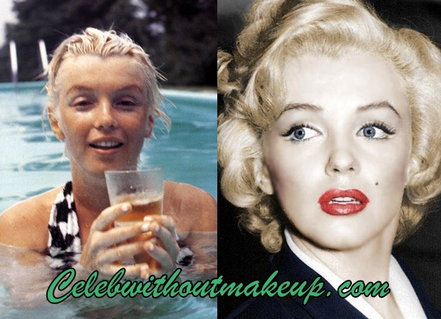 Marilyn Monroe No Makeup Celeb Without Makeup