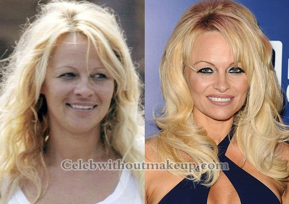 Plastic Camera Look Without Plastic >> Pamela Anderson Without Makeup - Celeb Without Makeup