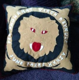 prize cushion back