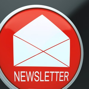 photo of E-mail Newsletter Shows Email Letter Communication Outgoing
