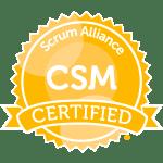 CSM Scrum Alliance Badge