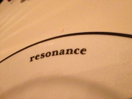 resonance レゾナンス