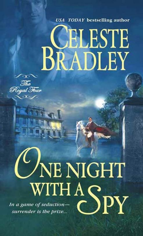 One Night with a Spy - The Royal Four - Book 3 - Cover