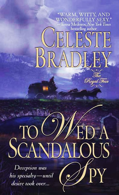 To Wed a Scandalous Spy - The Royal Four - Book 1 - Cover