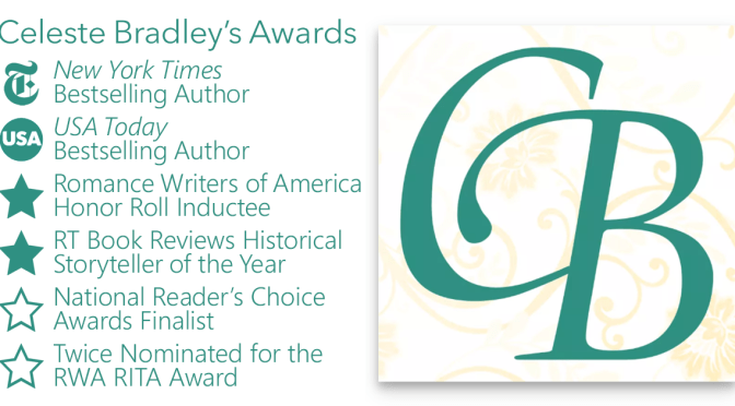 Celeste Bradley Author Awards