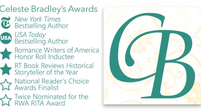 Celeste Bradley Author Awards