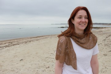 Knits of a Feather: Sandpiper Scarf