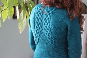 Swivel Pullover by Kerry Blumer