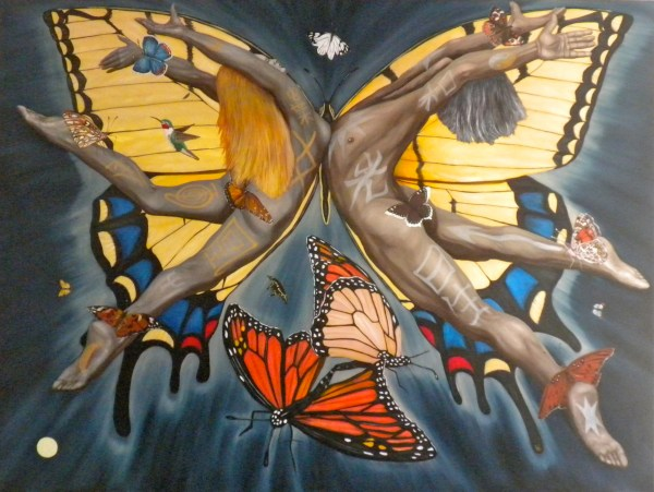 Painting Butterfly Nebula