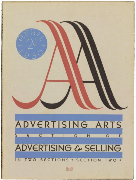 advertising-arts-april-1930-bernhard-cover