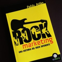"Libro recomendado: Pablo Adán ""Rock Marketing"""
