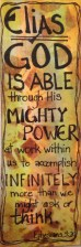 God is Able bookmark