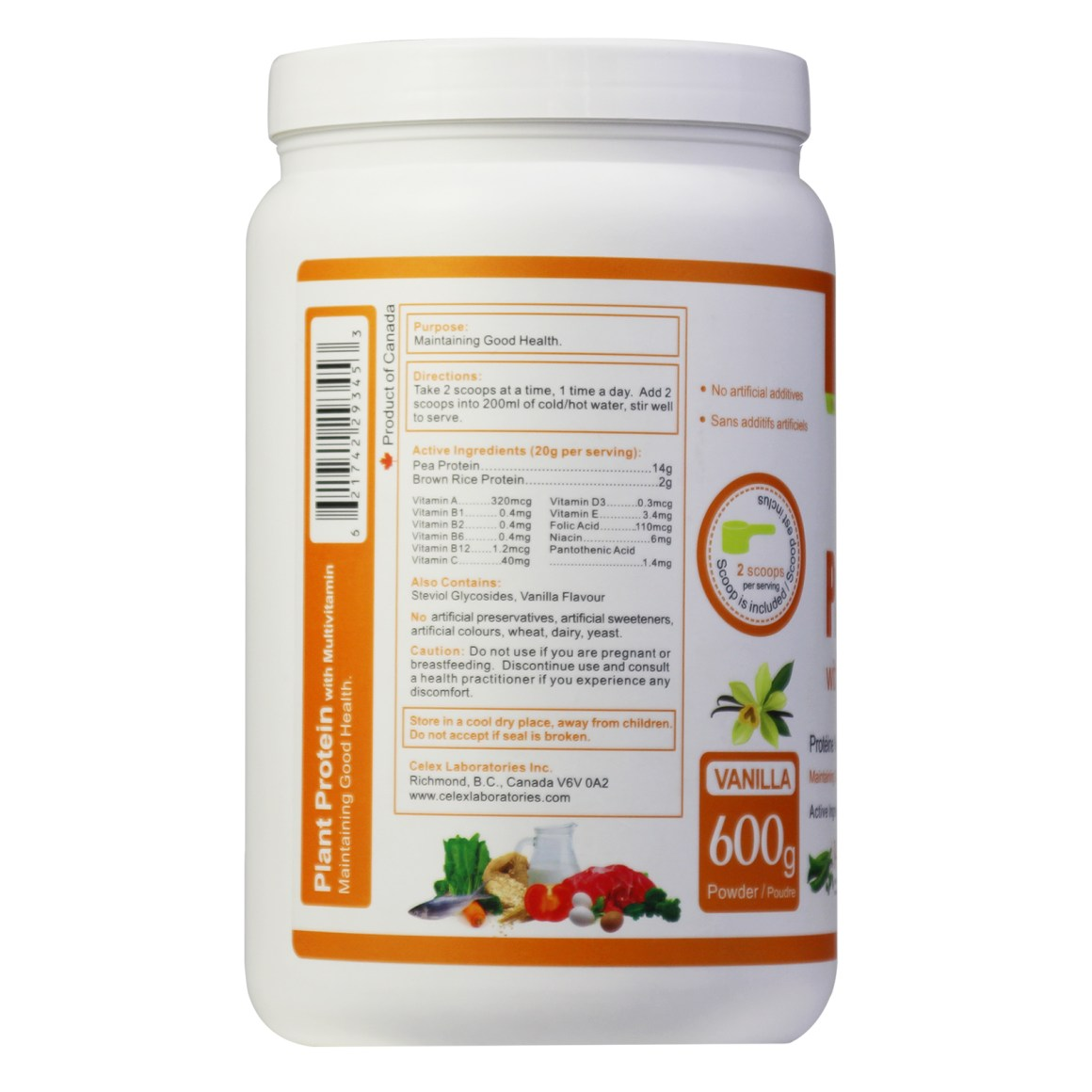 Plant Protein with Multivitamin