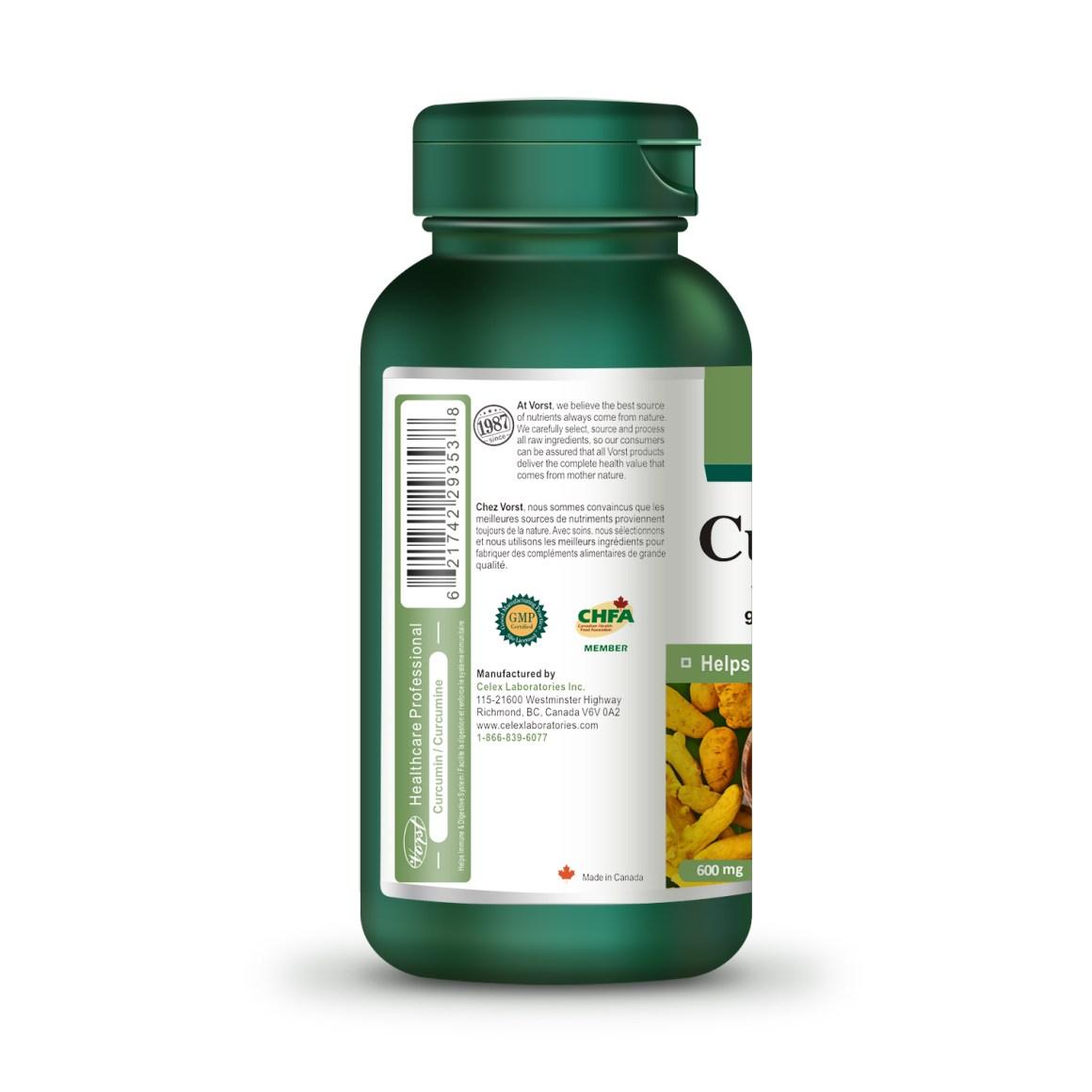 Curcumin Extract 600mg 90 Capsule