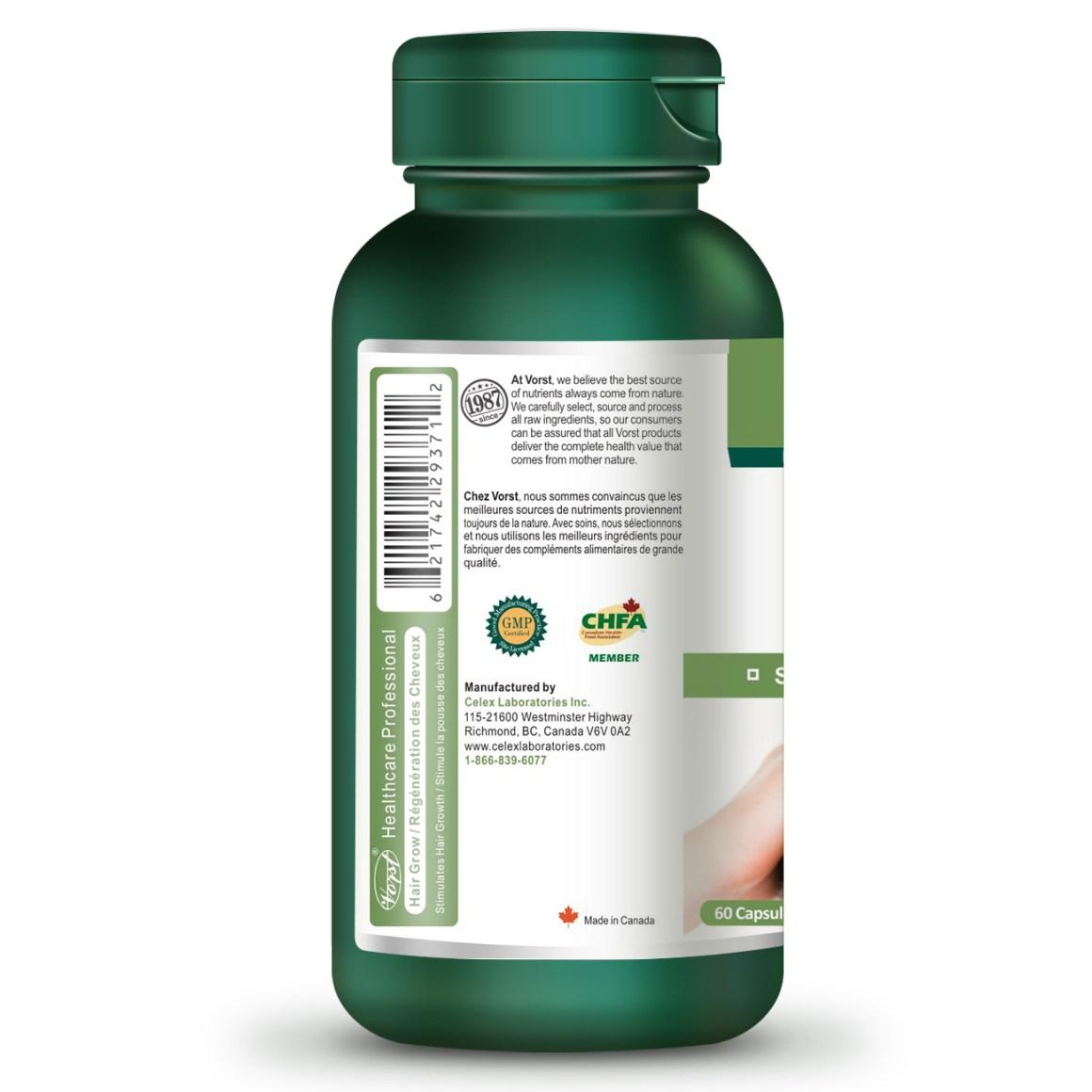 Hair Grow Formula with Biotin 60 Capsules