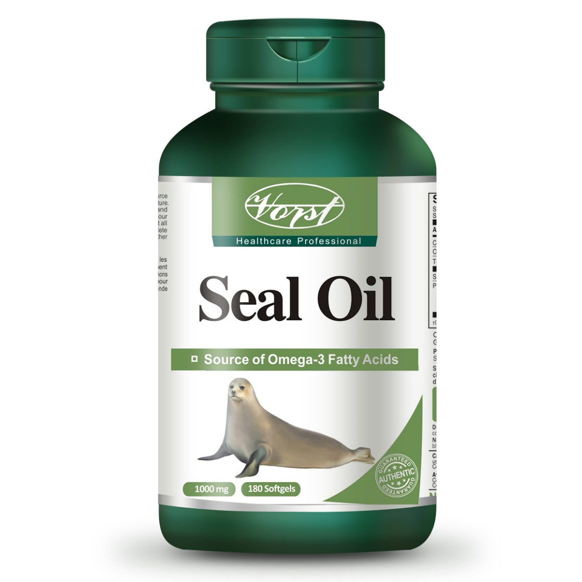 Seal Oil 1000 mg 180 Softgels