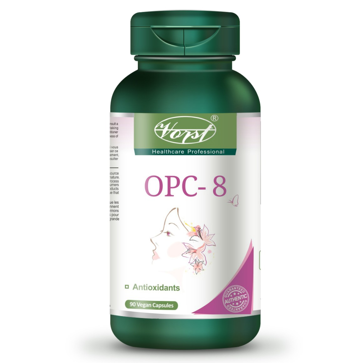 OPC-8 Bottle Front