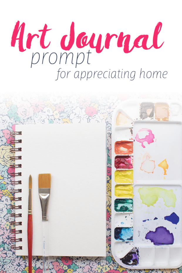 art journal prompt pinterest