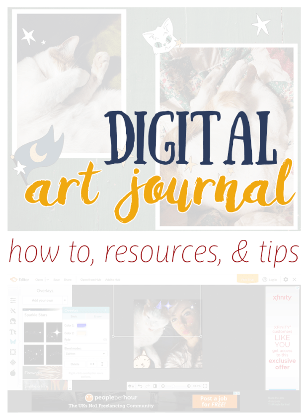 Digital Art Journal, Pinterest