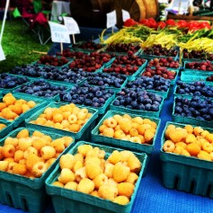 Pictures from the farmers market.