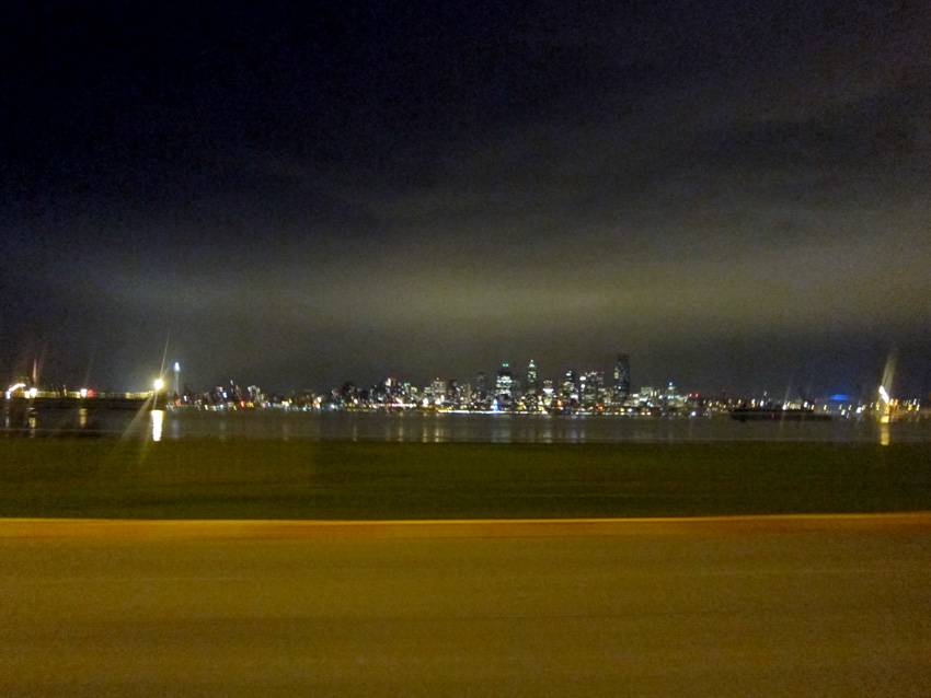 Seattle at night, © 2013 Celia Her City
