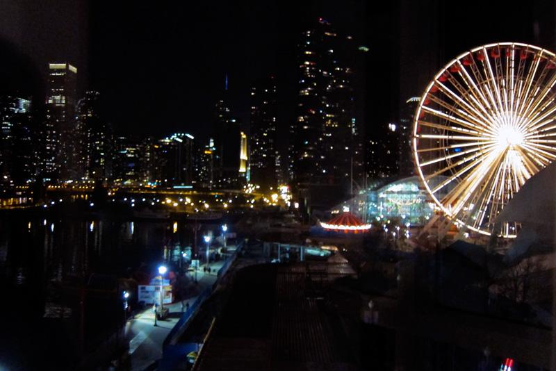Later: Navy Pier, © 2014 Celia Her City