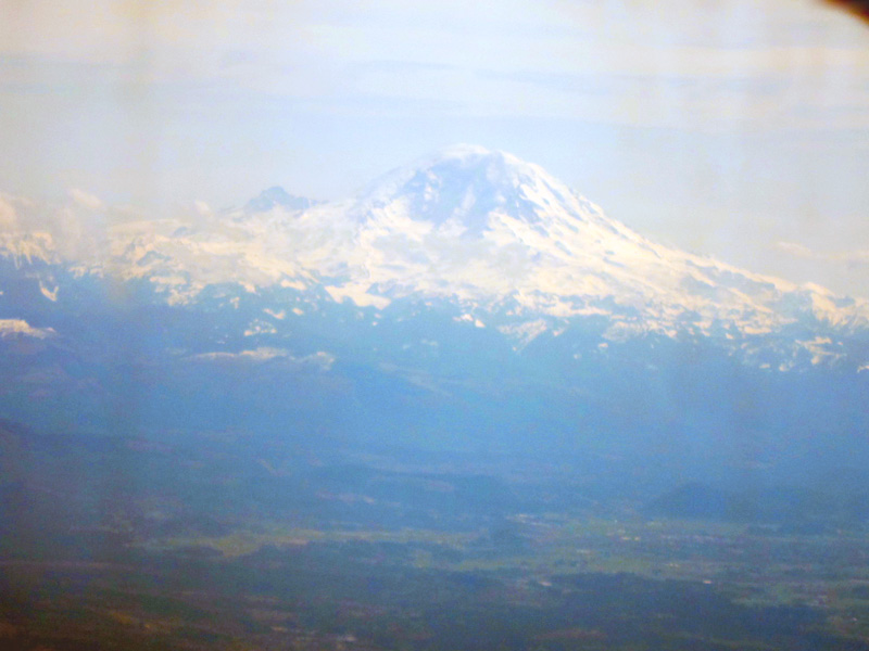 Mountain thru glass, © 2014 Celia Her City