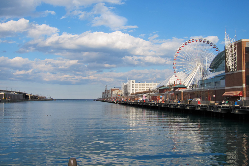 To Navy Pier, © 2014 Celia Her City