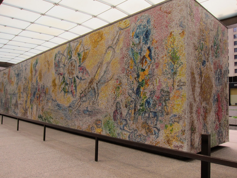 Chagall's monumental 'Four Seasons'