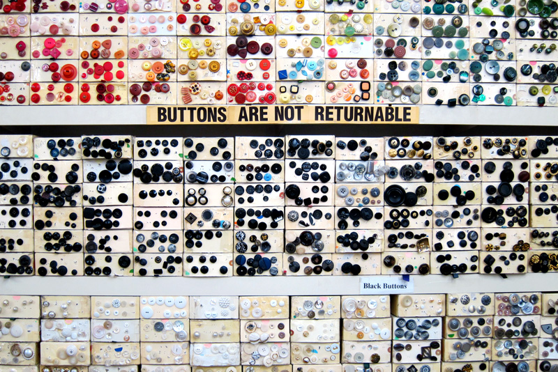 Buttons are not returnable, © 2014 Celia Her City