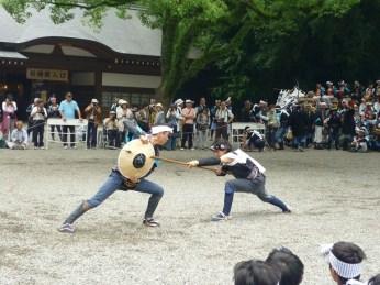 Martial Arts Display @ Atsuta Matsuri, Nagoya